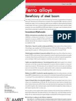 Ferro Alloys Sector Report 2May08