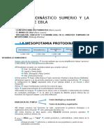 05. EL PROTODINÁSTICO SUMERIO Y LA CIUDAD DE EBLA