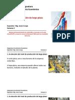 PPT Tema3 La oferta y producción de largo plazo
