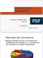 Cercetare de Marketing