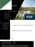 PAISAJISMO II. DISEÑO DE ESPACIOS EXTERIORES. - ARQ. YOSHINOBU ASHIHARA