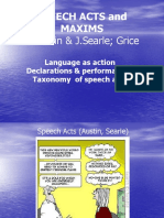 SPEECH ACT SEARLE