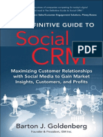 The Definitive Guide to Social CRM [2015]