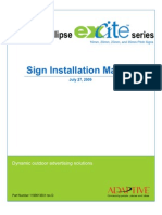 Excite Installation Manual