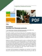 2006-Iniciativa mundial de fitomejoramiento