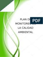 PLAN DE MONITOREO DE LA CALIDAD AMBIENTAL