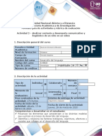 Guía de actividades y rúbrica de evaluación-Actividad 2 -Analizar contexto y desempeño comunicativo y lingüístico de un niño en video