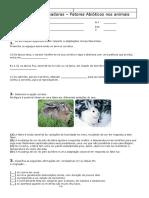 fatores abióticos nos animais