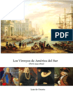 Los Virreyes de América Del Sur I (Perú 1540-1825)