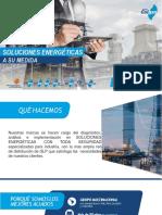 Presentación Corporativa V3 Soluciones Energeticas