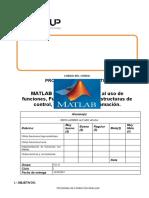 Lab 03 - Matlab - Introducion al uso de funciones, funciones logicas y estructuras de control.docx