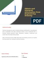 Interpret technical drawing