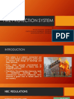 FIRE PROTECTION SYSTEM ACCORDING TO NBC INDIA