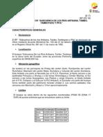 BP SUBCUENCAS ALTAS DE LOS RIOS ANTISANA, TAMBO, TAMBOYACU Y PITA-
