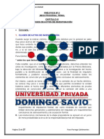 CLASES DE ACTOS DE INVESTIGACIÓN
