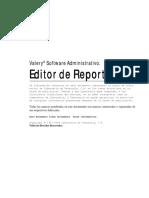 Editor de reportes Valery 1.96