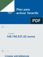 Plan de choque de 148 millones de euros para empleo y emergencia social en Tenerife