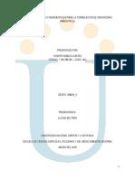 Unidad 1 - formulacion de Indicadores