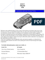 VOLVO V70 2001 User Manual