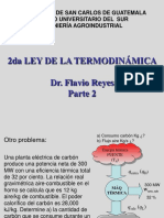 Segunda Ley de La Termodinámica (Parte II)