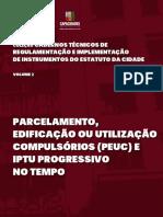 Caderno Técnico PEUC