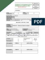 PIC Optativa I - Sistemas de Gestion de Calidad profe