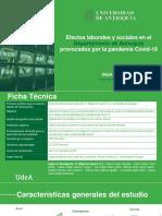 Impactos Económicos y Sociales Antioquia COVID-19