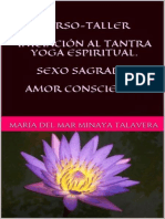 Minaya Talavera Maria Del Mar - Curso - Taller Iniciacion Al Tantra Yoga Espiritual.epub