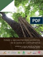 Estado y aprovechamiento sostenible de la caoba en CA.pdf