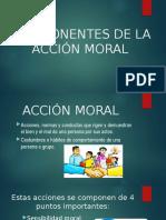 Componentes de la acción moral