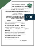 MEDICIÓN DE LA POTENCIA REACTIVA DE LOS CIRCUITOS POLIFÁSICOS DE TRES FASES, CUATRO HILOS CONEXIÓN ESTRELLA. METODO DIRECTO.