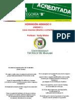 1.6 CHEQUEO DE CORTANTE EN LOSAS MACIZAS BIDIRECCIONALES
