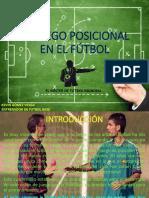 EL JUEGO POSICIONAL EN EL FÚTBOL EL MISTER DE FUTBOL MUNDIAL
