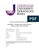 Experimet 1 FTIR & NMR.docx