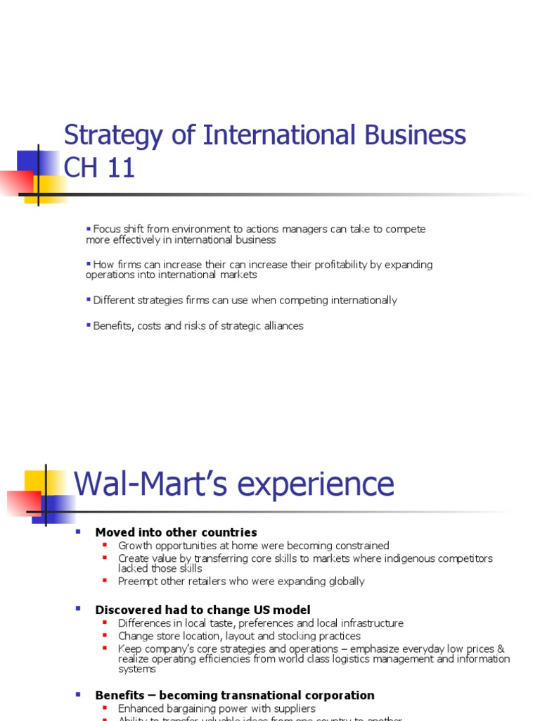 how does expanding internationally benefit wal mart Counterintuitive retail strategies benefit costco globally costco's international expansion 40,000 in most of the largest supermarkets and 100,000 in wal-mart.