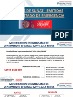 NORMA DE SUNAT - COVID 19