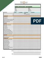 10. Daily Environmental Inspection Checklist