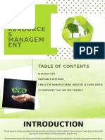 green resources management