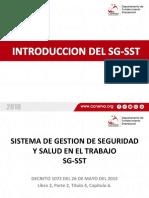 1. INTRODUCCION SG-SST CCN 2018