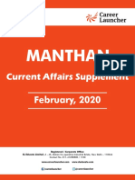 Monthly Manthan February, 2020