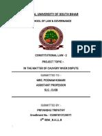 Central University of South Bihar Pkt Cauvery