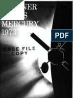 Mariner Venus Mercury, 1973