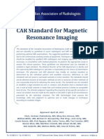 CAR Standard for Magnetic