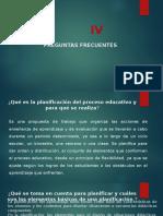 17. FAVORECER LA AUTOEVALUACIÓN DEL DESEMPEÑOPRECUNTAS FRECUENTES