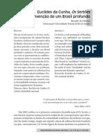 Euclides da Cunha, Os Sertões e a invenção de um Brasil profundo