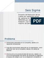 Six Sigma Talma Reposicion Personal..ppt