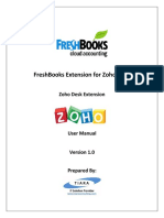 FreshBooks Extension for Zoho Desk