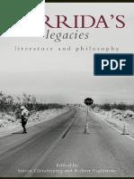 Derridas Legacies Literature and Philosophy