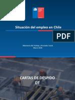 Situación Del Empleo en Chile Marzo 2020