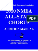 2010 All-State Chorus Manual